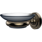 Dottingham Collection Wall Mounted Soap Dish Holder, Premium Finish, Antique Pewter