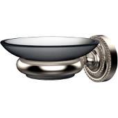Dottingham Collection Wall Mounted Soap Dish Holder, Premium Finish, Satin Nickel