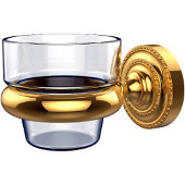 Dottingham Collection Wall Mounted Votive Candle Holder, Standard Finish, Polished Brass