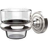 Dottingham Collection Wall Mounted Votive Candle Holder, Standard Finish, Polished Chrome