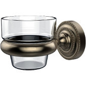 Dottingham Collection Wall Mounted Votive Candle Holder, Premium Finish, Antique Pewter