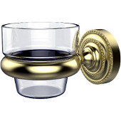 Dottingham Collection Wall Mounted Votive Candle Holder, Premium Finish, Satin Brass