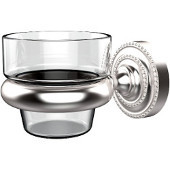 Dottingham Collection Wall Mounted Votive Candle Holder, Premium Finish, Satin Chrome