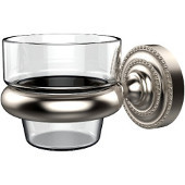 Dottingham Collection Wall Mounted Votive Candle Holder, Premium Finish, Satin Nickel