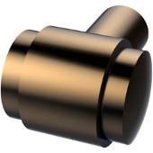 1'' Cabinet Knob, Premium Finish, Brushed Bronze