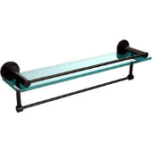 Fresno Collection 22'' Shelf w/Gallery Rail and Towel Bar, Premium Finish, Oil Rubbed Bronze