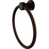 Foxtrot Collection Towel Ring, Premium Finish, Rustic Bronze