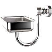 Foxtrot Collection Wall Mounted Soap Dish, Satin Chrome