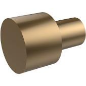 5/8'' Cabinet Knob, Premium Finish, Brushed Bronze