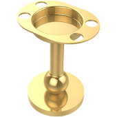 Vanity Top Collection Tumbler/Toothbrush Holder, Standard Finish, Polished Brass