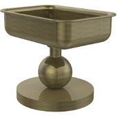 Vanity Top Collection Soap Dish, Premium Finish, Antique Brass