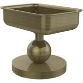 Vanity Top Collection Soap Dish, Premium Finish, Antique Brass
