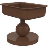 Vanity Top Collection Soap Dish, Premium Finish, Rustic Bronze