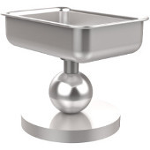 Vanity Top Collection Soap Dish, Premium Finish, Satin Chrome