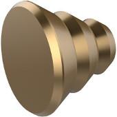 Designer Cabinet Knob, Premium Finish, Brushed Bronze