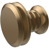 Designer 1-1/8'' Cabinet Knob, Premium Finish, Brushed Bronze
