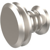 J-1 Series Designer Cabinet Knobs Collection 1-1/8'' Diameter Round Cabinet Knob in Satin Nickel (Premium Finish), Available in Multiple Finishes