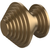 Designer Cabinet Knob, Premium Finish, Brushed Bronze