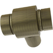 K-10 Series Cabinet Hardware 1'' W Round Cabinet Knob in Antique Brass (Premium Finish), Available in Multiple Finishes