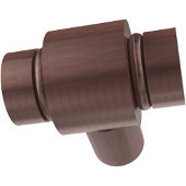 K-10 Series Cabinet Hardware 1'' W Round Cabinet Knob in Antique Copper (Premium Finish), Available in Multiple Finishes