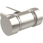 L-10 Series Cabinet Hardware 1-3/10'' W Cabinet Knob in Polished Nickel (Premium Finish), Available in Multiple Finishes