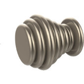 M-1 Series Waverly Place Collection 1'' Diameter Round Waverly Cabinet Knob in Antique Pewter (Premium Finish), Available in Multiple Finishes