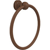Mambo Collection Towel Ring, Premium Finish, Rustic Bronze