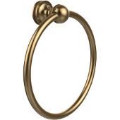 Mambo Collection Towel Ring, Premium Finish, Brushed Bronze