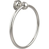 Mambo Collection Towel Ring, Premium Finish, Polished Nickel