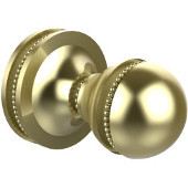 Mambo Collection Utility Hook, Premium Finish, Satin Brass