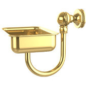 Mambo Collection Wall Mounted Soap Dish, Unlacquered Brass