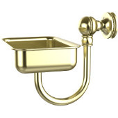 Mambo Collection Wall Mounted Soap Dish, Satin Brass