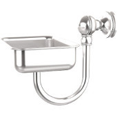 Mambo Collection Wall Mounted Soap Dish, Satin Chrome