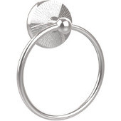 Monte Carlo Collection 6'' Towel Ring, Standard Finish, Polished Chrome