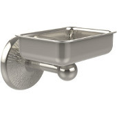 Monte Carlo Collection Soap Dish with Glass Liner, Premium Finish, Polished Nickel