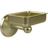 Monte Carlo Collection Soap Dish with Glass Liner, Premium Finish, Satin Brass