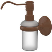 Monte Carlo Collection Wall Mounted Soap Dispenser, Premium Finish, Rustic Bronze
