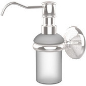 Monte Carlo Collection Wall Mounted Soap Dispenser, Standard Finish, Polished Chrome