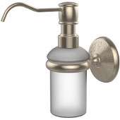 Monte Carlo Collection Wall Mounted Soap Dispenser, Premium Finish, Antique Pewter