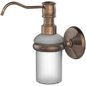 Monte Carlo Collection Wall Mounted Soap Dispenser, Premium Finish, Venetian Bronze