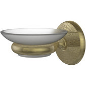 Monte Carlo Collection Wall Mounted Soap Dish Holder, Premium Finish, Antique Brass