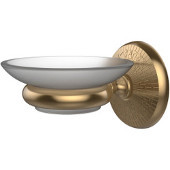Monte Carlo Collection Wall Mounted Soap Dish Holder, Premium Finish, Brushed Bronze