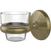 Monte Carlo Collection Wall Mounted Votive Candle Holder, Premium Finish, Antique Brass