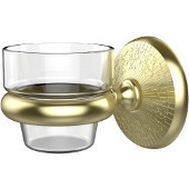 Monte Carlo Collection Wall Mounted Votive Candle Holder, Premium Finish, Satin Brass
