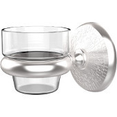 Monte Carlo Collection Wall Mounted Votive Candle Holder, Premium Finish, Satin Chrome
