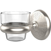 Monte Carlo Collection Wall Mounted Votive Candle Holder, Premium Finish, Satin Nickel