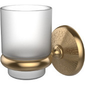Monte Carlo Collection Wall Mounted Tumbler Holder, Premium Finish, Brushed Bronze