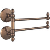Monte Carlo Collection 2 Swing Arm Towel Rail, Venetian Bronze