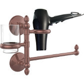 Monte Carlo Collection Hair Dryer Holder and Organizer, Antique Copper