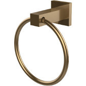 Montero Collection Towel Ring, Brushed Bronze